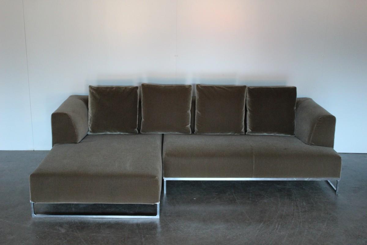 Miraculous Mint Bb Italia Solo L Shape Sectional Sofa In Sensational Ibusinesslaw Wood Chair Design Ideas Ibusinesslaworg