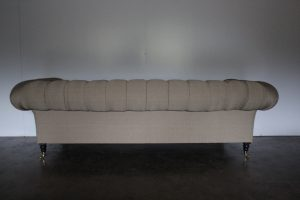 "Mint George Smith ""Early Victorian Chesterfield"" Sofa in Ralph Lauren Fabric - 2 Available"