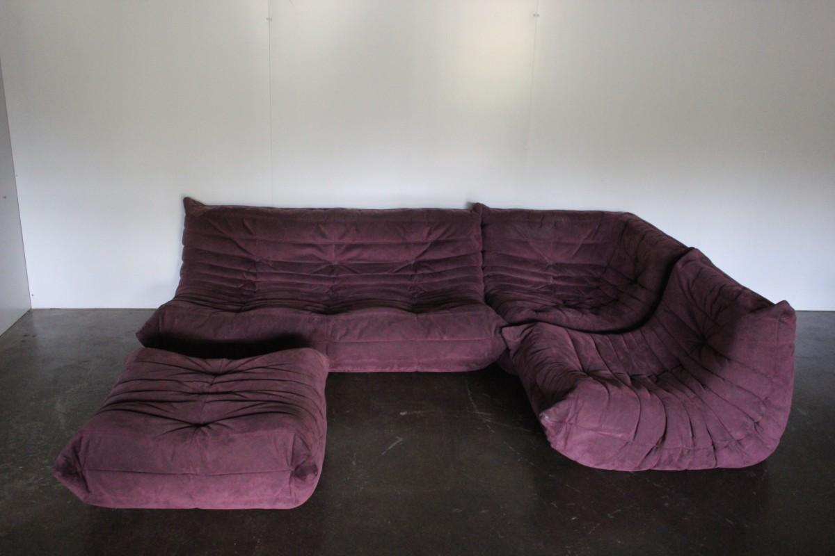 Superb Ligne Roset Togo 56 Seat L Shape Sectional Sofa In