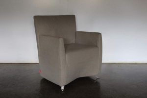 "Rare Sublime Cerruti Baleri Italia ""Caprichair"" Armchair in Woven Fabric - 4 Available"