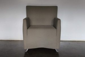 "Rare Sublime Cerruti Baleri Italia ""Caprichair"" Armchair in Woven Fabric - 4 Available"