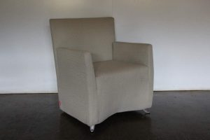 "Rare Sublime Cerruti Baleri Italia ""Caprichair"" Armchair in ""Boucle"" Fabric - 5 Available"