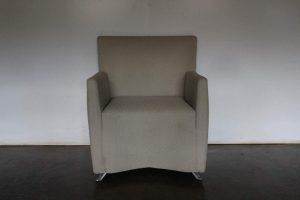 "Rare Sublime Cerruti Baleri Italia ""Caprichair"" Armchair in ""Boucle"" Fabric - 5 Available"