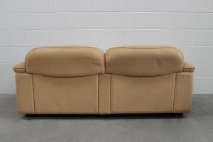 "Stunning Immaculate De Sede ""DS-101"" 2.5-Seat Sofa in Neck Leather - 2 Available"