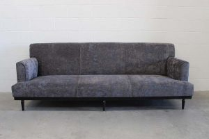 "Mint Huge Contemporary ""Standard-Arm"" Sofa in Romo Velvet, Handmade by George Smith Craftsmen"