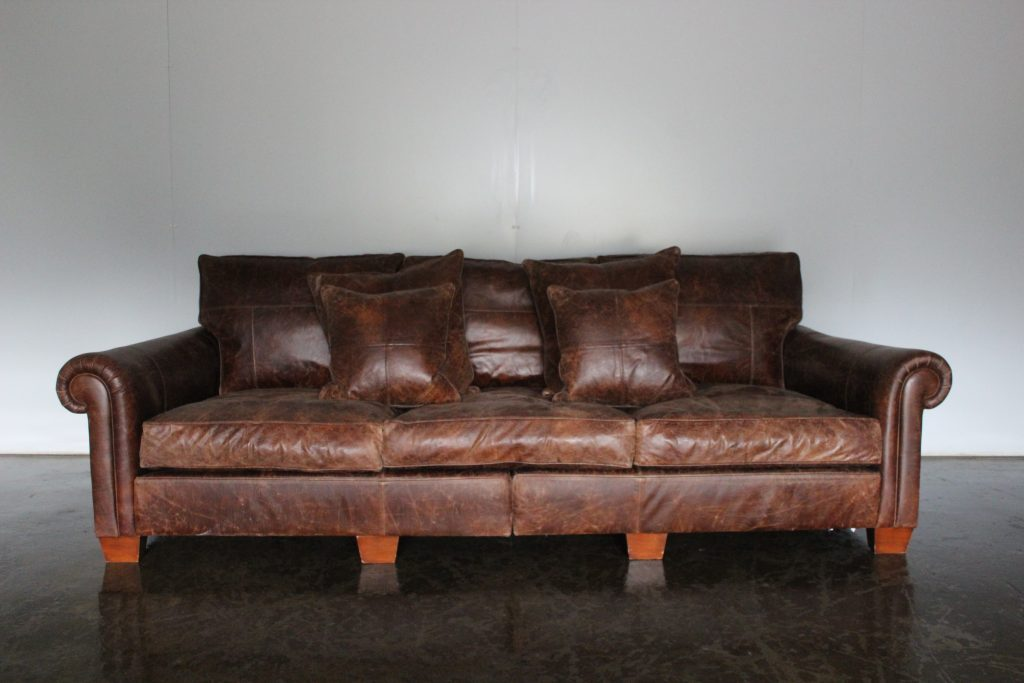 Top Grade Leather Couch