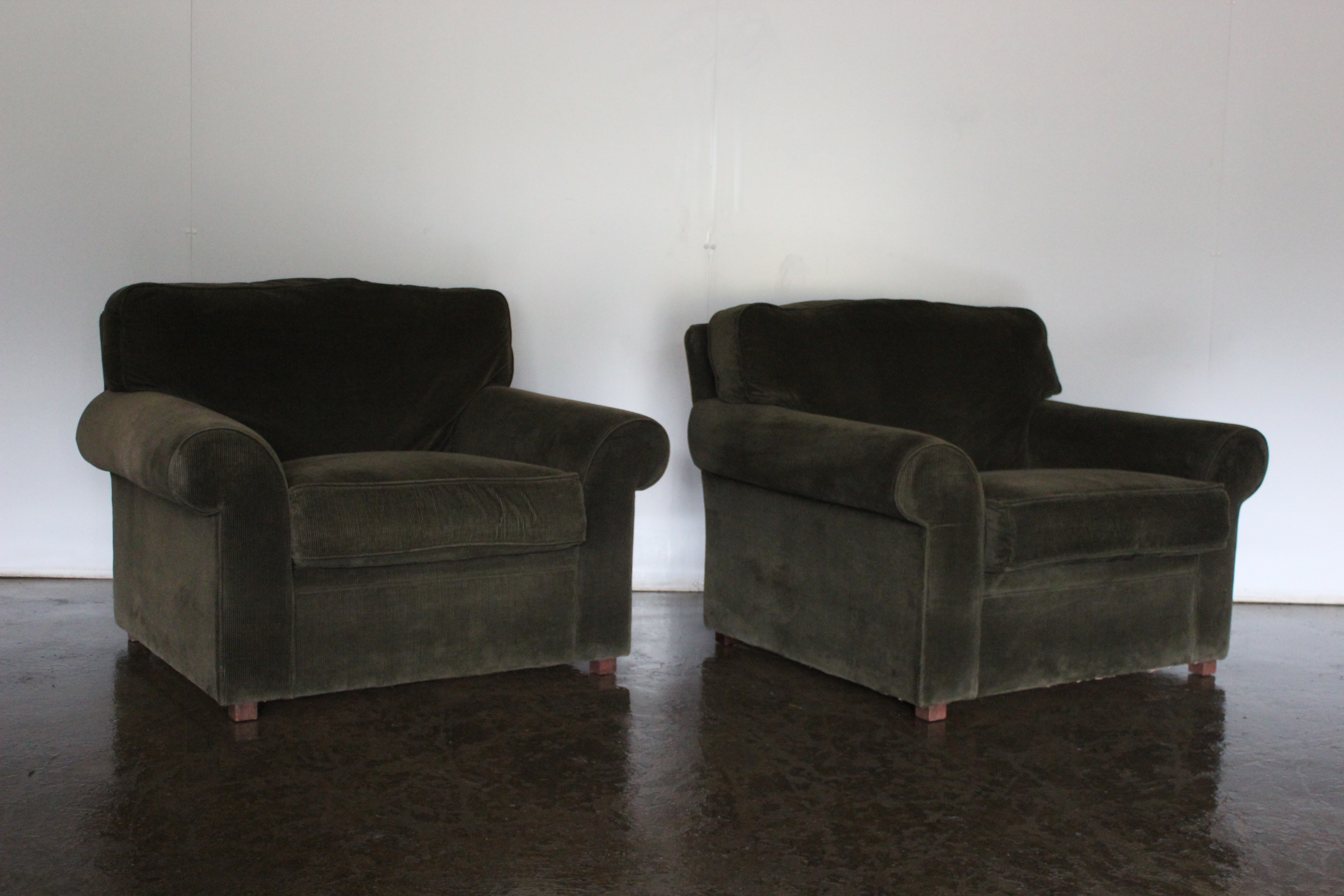Pleasing Sublime Rare Pair Of Ralph Lauren Jamaica Armchairs In Andrewgaddart Wooden Chair Designs For Living Room Andrewgaddartcom