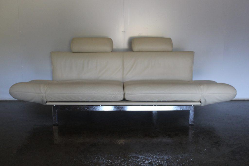 "Sensational Rare De Sede ""DS-140"" 3-Seat Sofa Chaise In"